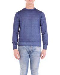 Cruciani Blue Cashmere Sweater