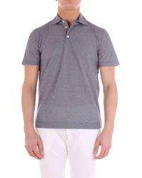 Cruciani White Cotton Polo Shirt