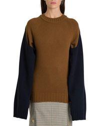 Eudon Choi Brown Wool Jumper