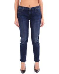 Jacob Cohen Blue Cotton Jeans