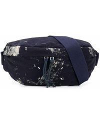 Maison Margiela Graphic Print Belt Bag - Blue