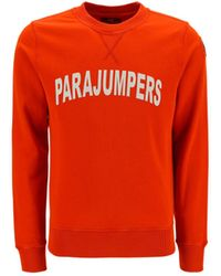 Parajumpers ANDERE MATERIALIEN SWEATSHIRT - Orange