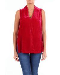 Maliparmi Top Sleeveless - Red