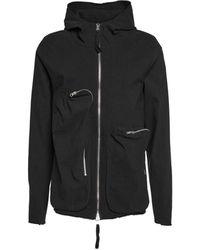 Thom Krom Msj44711 Other Materials Sweatshirt - Black