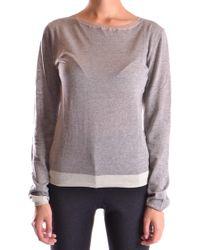 BP. Grey Cotton Sweater - Gray