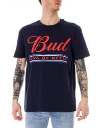 Jack & Jones Blue Cotton T-shirt