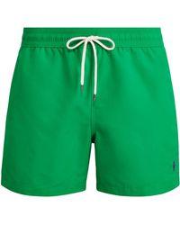 Ralph Lauren Green Polyester Trunks