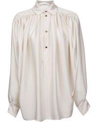 Philosophy White Polyester Blouse
