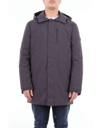 Save The Duck Polyester Trench Coat - Grey