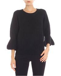 Michael Kors - Black Wool Sweater - Lyst