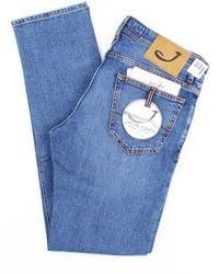 Jacob Cohen Jeans modell 622 blau