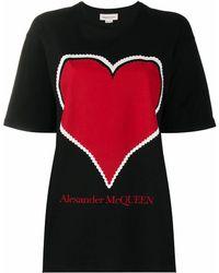 Alexander McQueen - BAUMWOLLE T-SHIRT - Lyst