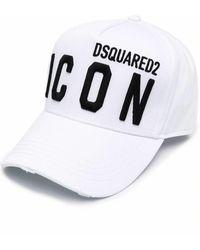 DSquared² Icon Baseballkappe - Weiß