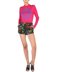 Versace Jeans Couture 71had325fs002899 andere materialien shorts - Blau