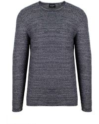 Only & Sons Gray Cotton T-shirt