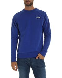 The North Face Blue Cotton Sweatshirt
