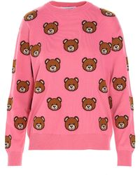 Moschino ANDERE MATERIALIEN SWEATER - Pink