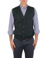 Altea Green Wool Vest