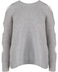 Zoe Jordan Gray Wool Sweater