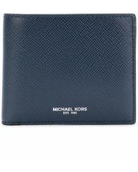 Michael Kors Harrison Wallet - Blue