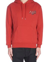 AMI Logo Embroidered Hoodie
