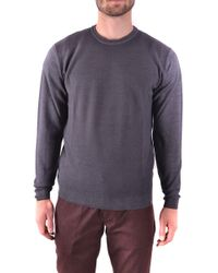 Jacob Cohen Gray Wool Sweater