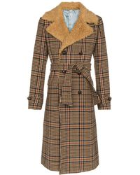 Gucci Wool Coat - Brown