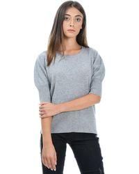 Alpha Studio Gray Cashmere Sweater