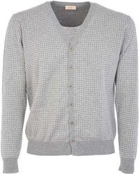 Altea - 175124020 Cotton Cardigan - Lyst