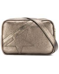 Golden Goose Deluxe Brand Leather Shoulder Bag - Metallic