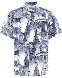 Buscemi Cotton Shirt - Blue