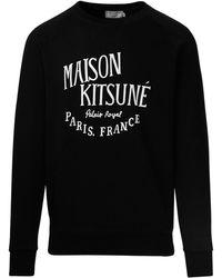 Maison Kitsuné - BAUMWOLLE SWEATSHIRT - Lyst