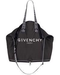 Givenchy POLYESTER SCHULTERTASCHE - Schwarz
