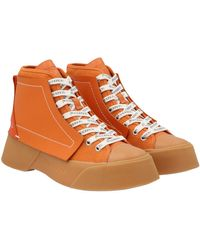 JW Anderson Anw37000a14055800 andere materialien sneakers - Orange