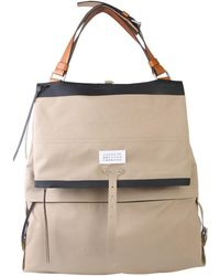 Maison Margiela Beige Polyester Travel Bag - Natural