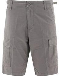 Carhartt I0282450071602 Cotton Shorts - Grey