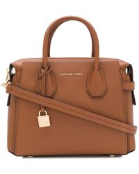 Michael Kors Leather Handbag - Brown