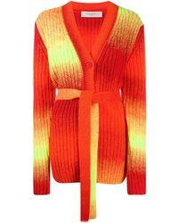 Golden Goose Deluxe Brand Cardigan mit Farbverlauf - Orange