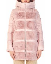 Save The Duck D4738wfuryy00996blush Coat - Pink