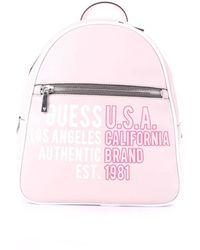 Guess Hwby8110330bsm leder rucksack - Pink