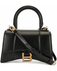 Balenciaga Leather Handbag - Black