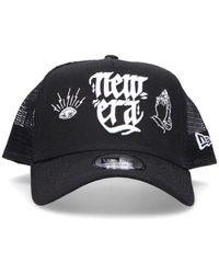 KTZ Black Cotton Hat
