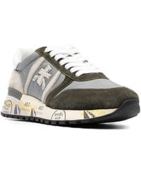 Premiata - Leather Sneakers - Lyst