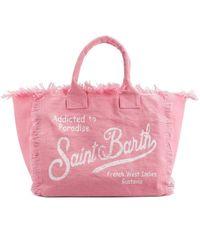 Mc2 Saint Barth BAUMWOLLE TOTE - Pink
