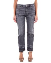Pt05 Dn02c1vjtiz20den Cotton Jeans - Gray