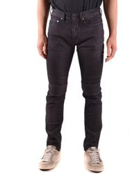 Neil Barrett - Black Cotton Jeans - Lyst