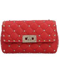 Valentino Red Leather Belt Bag