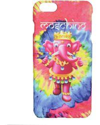 Moschino Elephant Logo Print Iphone 6/6s Case - Pink