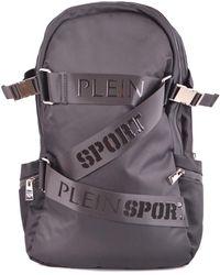 Philipp Plein Polyamide Backpack - Black