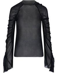 Redemption 20pfrt013ts202999 polyester bluse - Schwarz